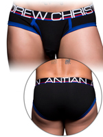 Andrew Christian - Fly Tagless Brief - Black