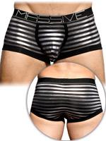 Andrew Christian - MASSIVE Glam Stripe Boxer - Black