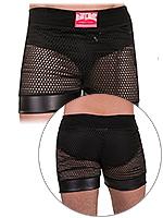 Barcode Mesh Boxer Short Danao Black